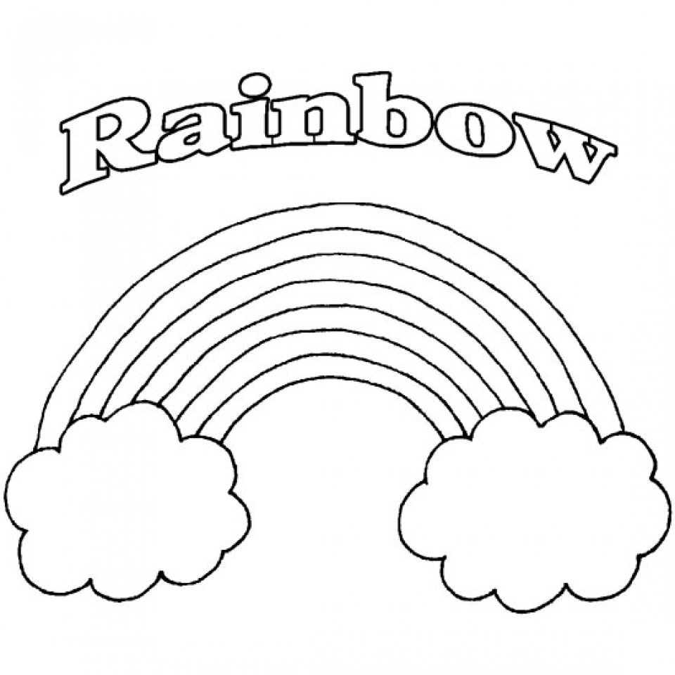 coloring pictures of rainbows free printable rainbow coloring pages what mommy does pictures rainbows coloring of