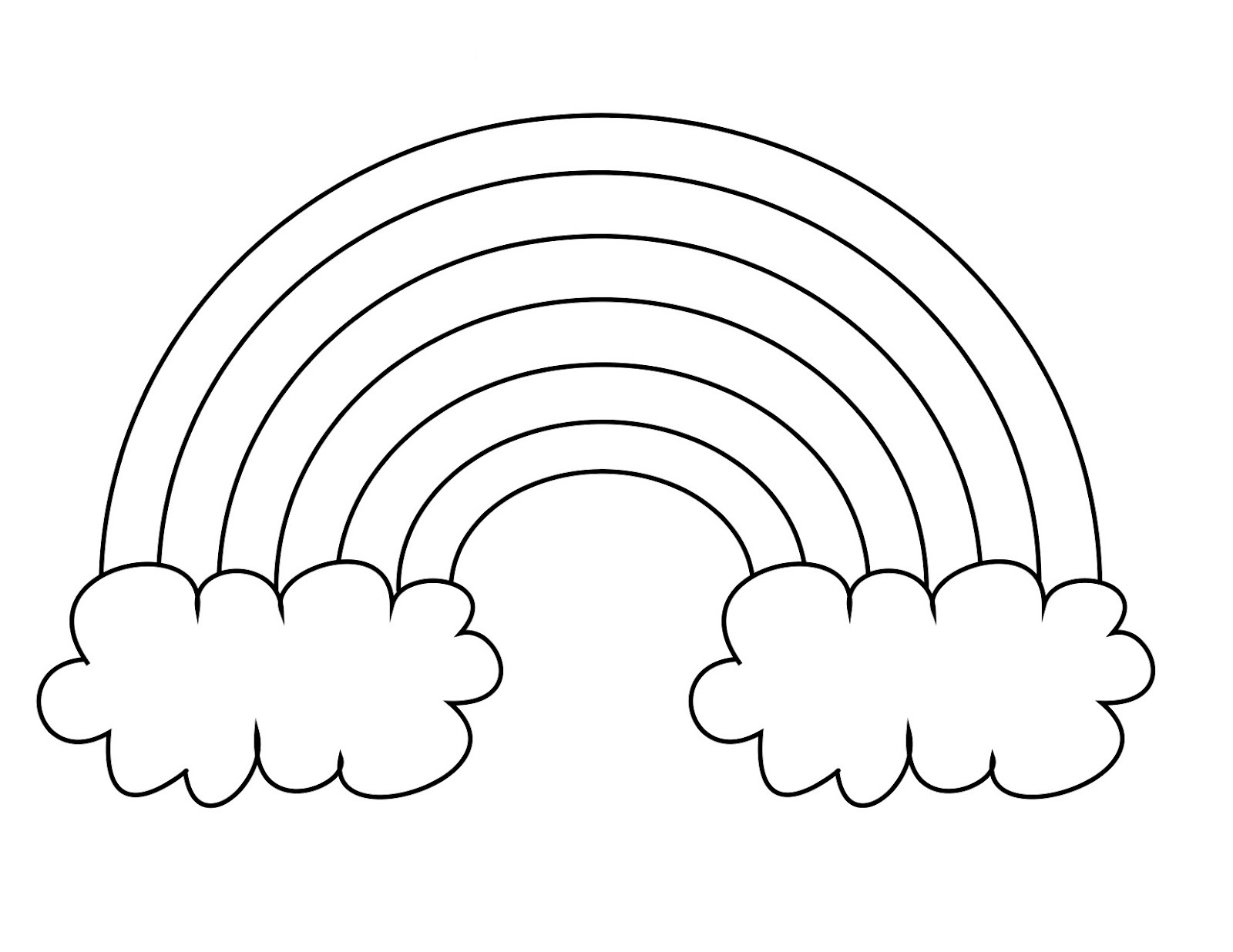 coloring pictures of rainbows get this free rainbow coloring pages to print t29m20 of coloring pictures rainbows