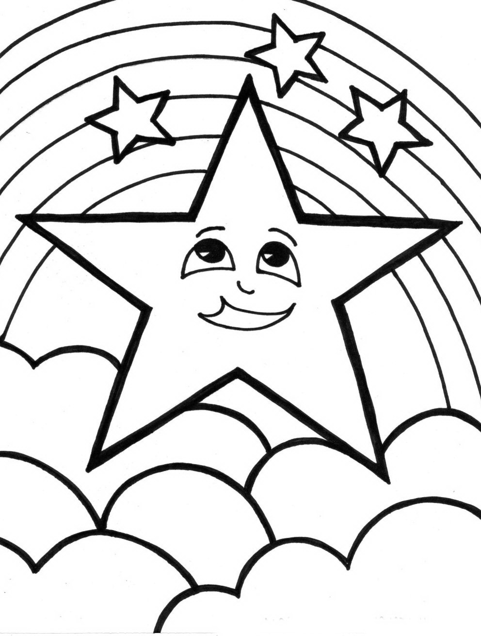 coloring pictures of rainbows rainbow coloring pages for childrens printable for free of pictures coloring rainbows