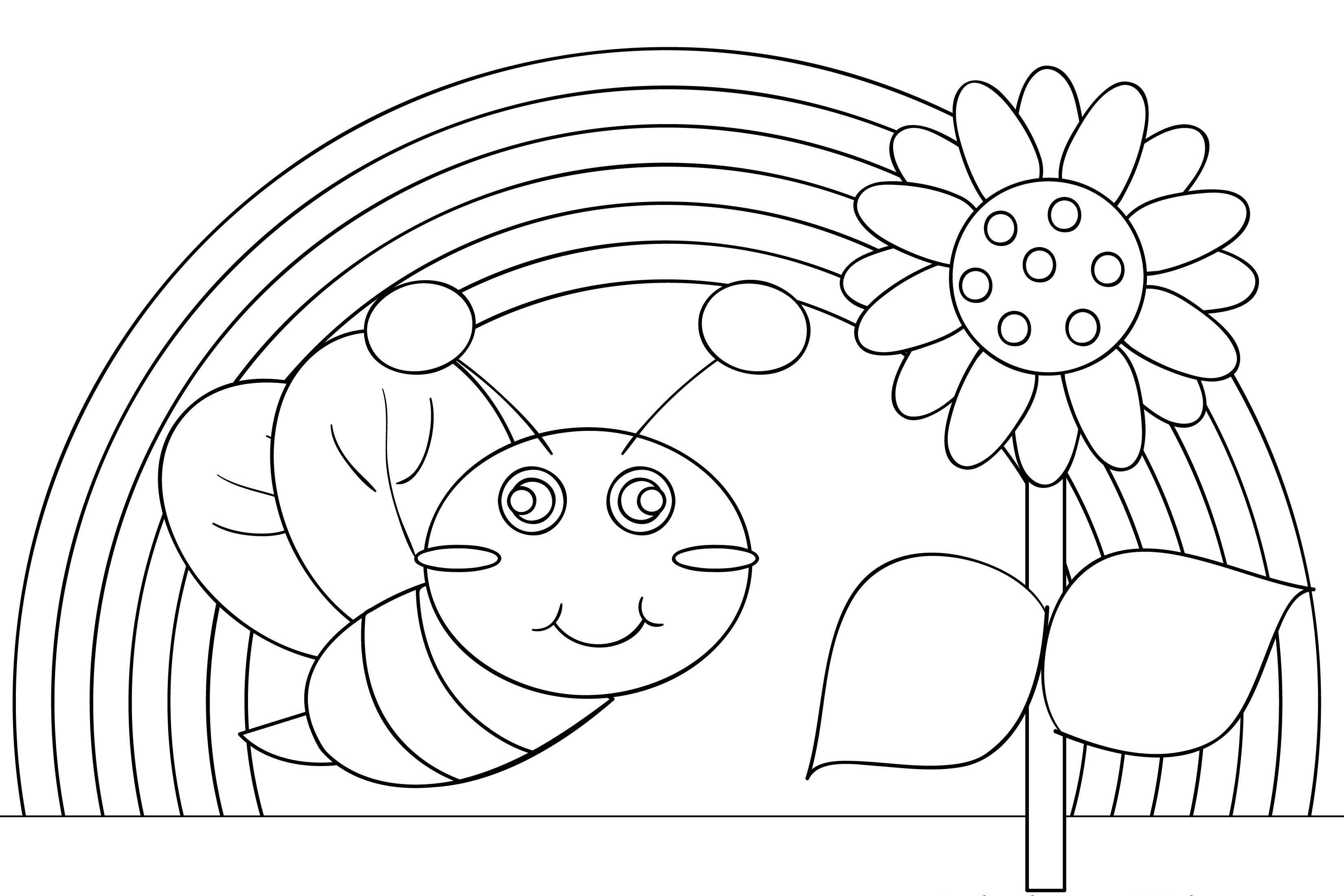 coloring pictures of rainbows rainbow rainbow coloring page 489 coloring pages of rainbows coloring pictures