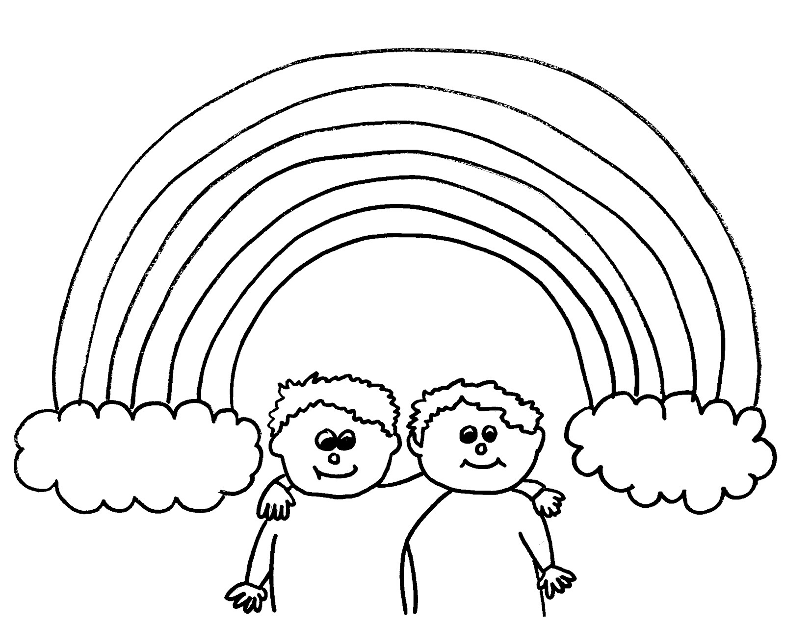 coloring pictures of rainbows rainbows coloring pages rainbows pictures of coloring