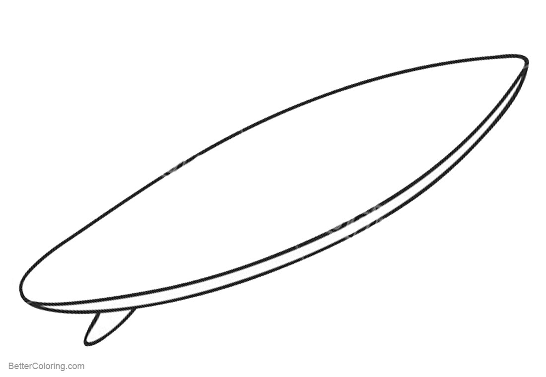coloring pictures of surfboards surfboard coloring page coloring page of surfboards coloring pictures