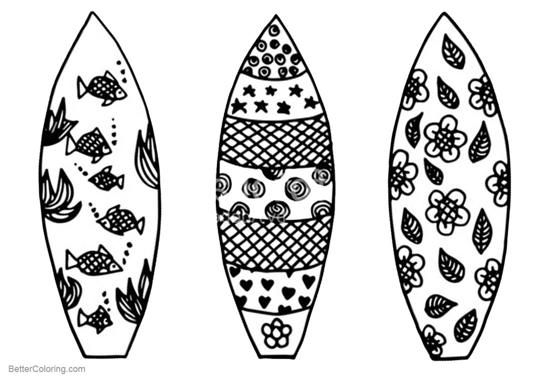 coloring pictures of surfboards surfboard coloring pages clipart free printable coloring coloring surfboards of pictures