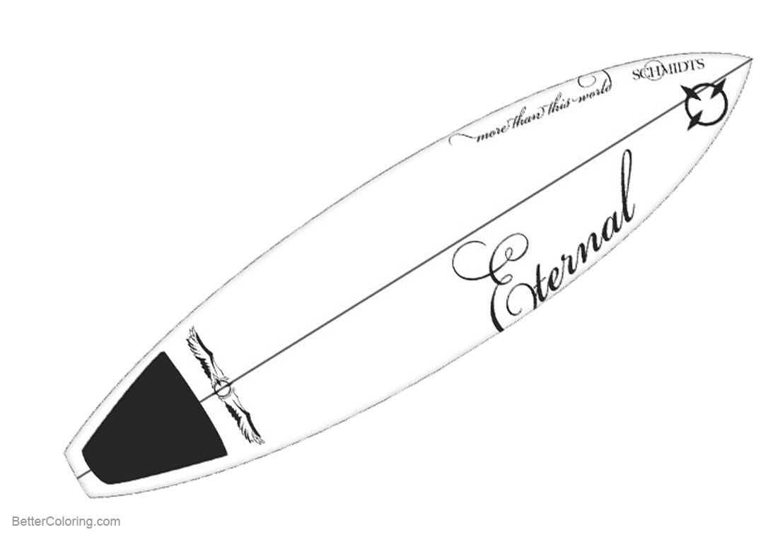 coloring pictures of surfboards surfboard coloring pages three surfboards on sand free coloring surfboards pictures of