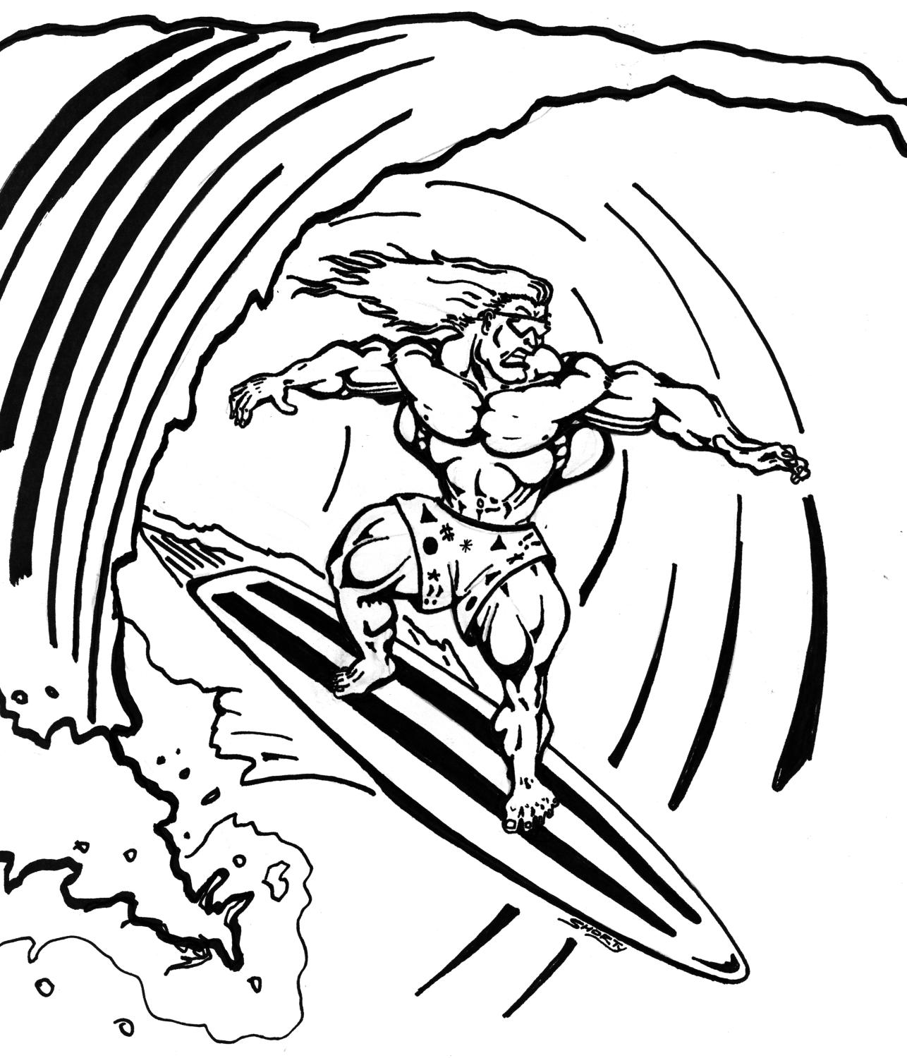 coloring pictures of surfboards surfboard coloring sheet xyzcoloring surfboards coloring of pictures