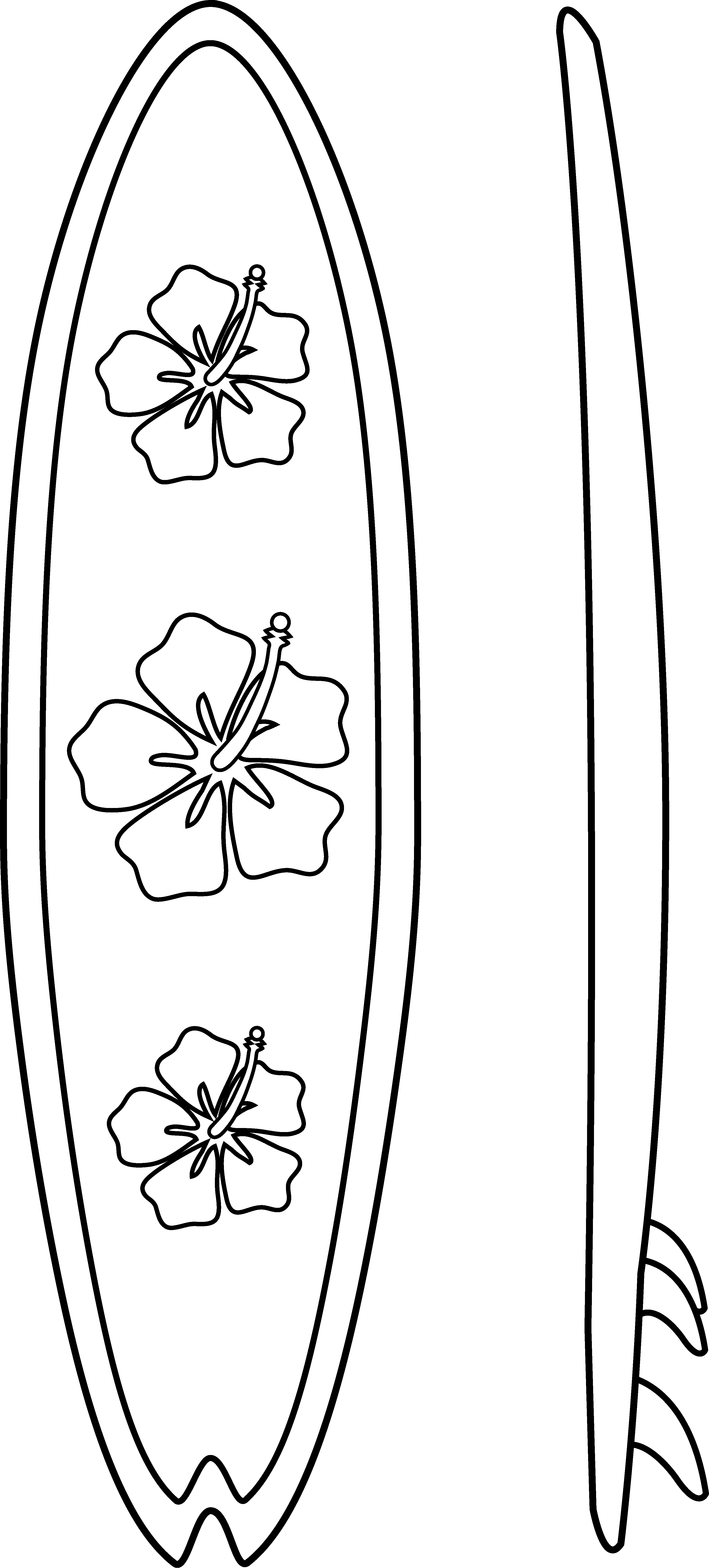 coloring pictures of surfboards two surfboards coloring pages free printable coloring pages surfboards coloring pictures of