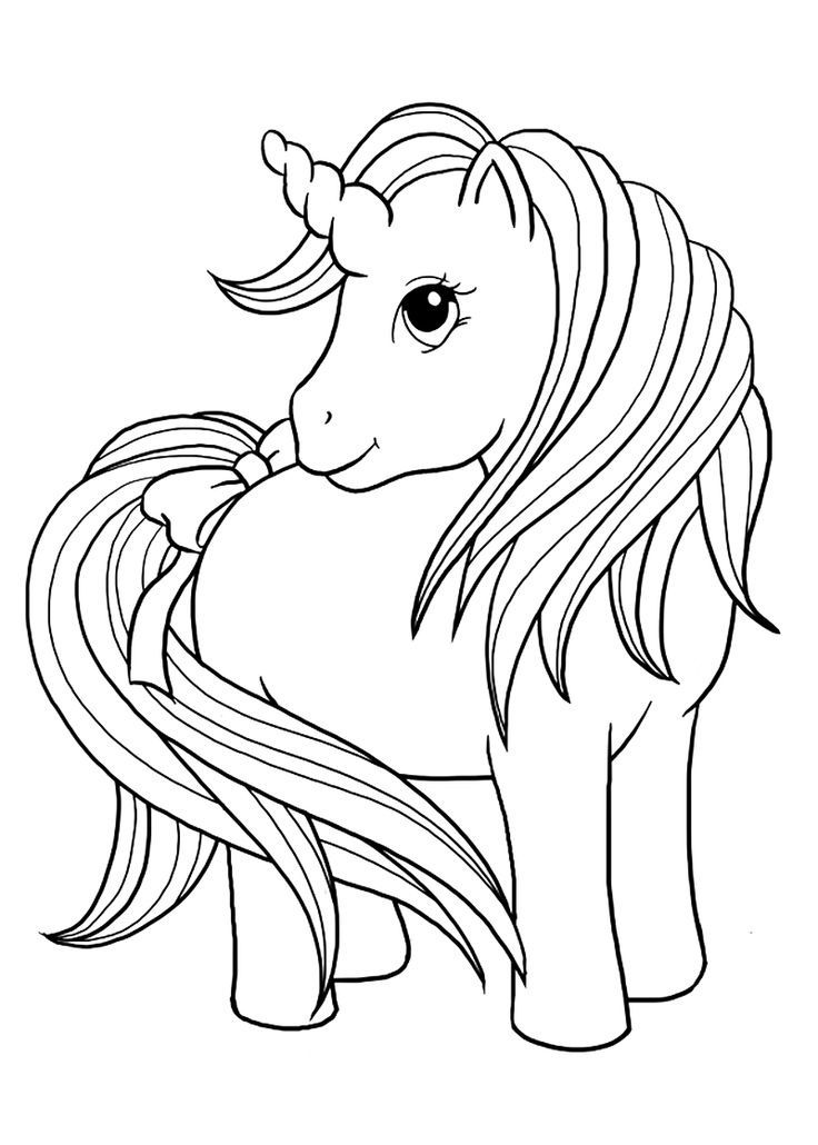 coloring pictures of unicorn unicorn coloring page for kids stock illustration of pictures unicorn coloring