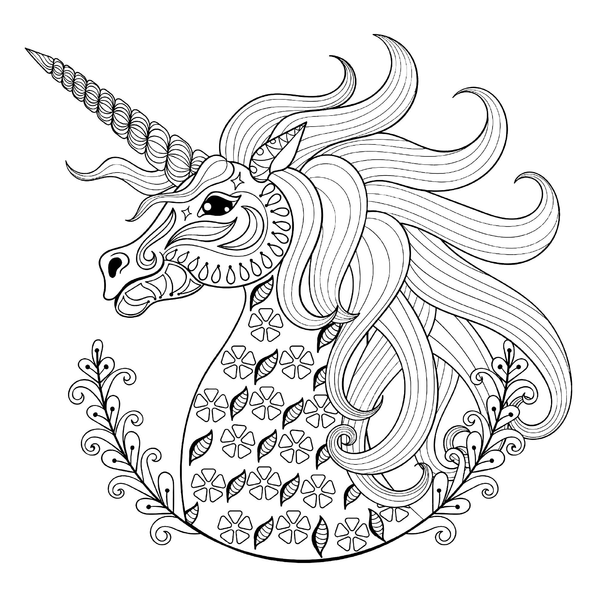 coloring pictures of unicorn unicorn coloring pages free download on clipartmag pictures coloring unicorn of
