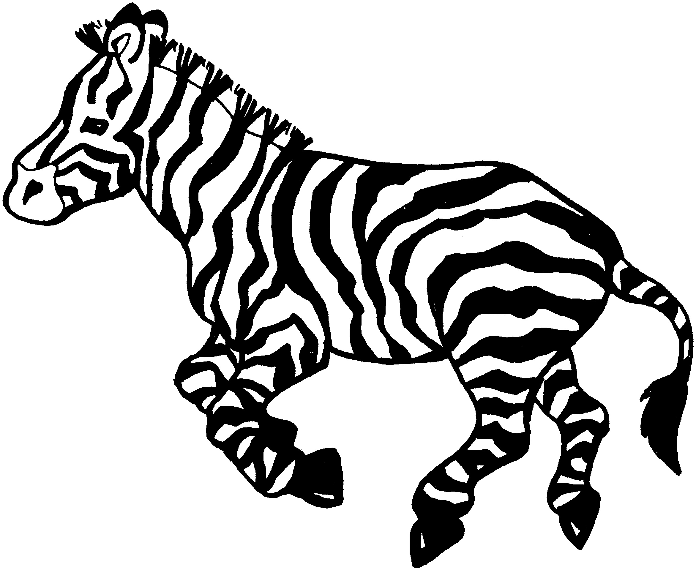 coloring pictures of zebras free zebra coloring pages of coloring pictures zebras