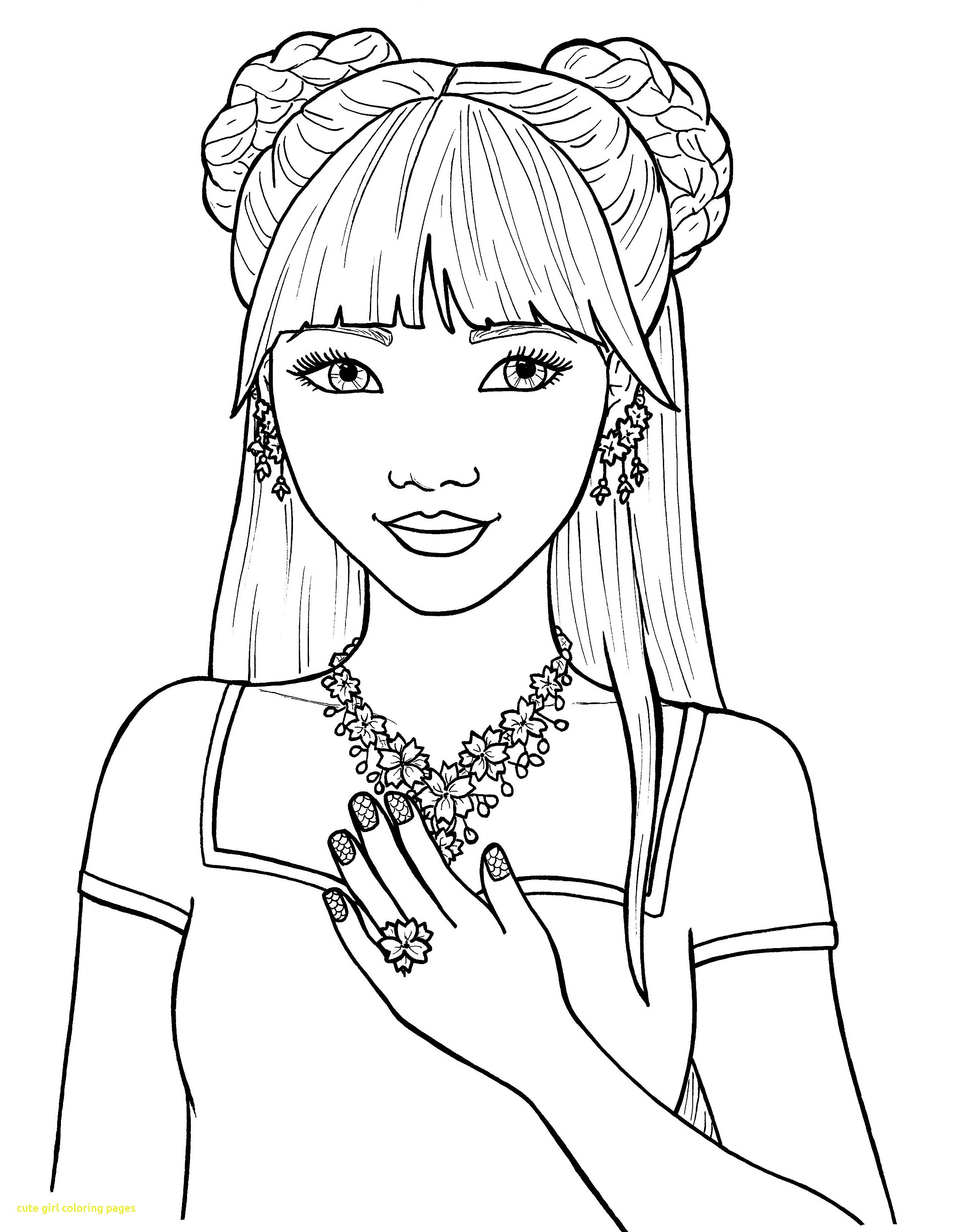 coloring pictures people adult coloring page girl portrait and clothes colouring coloring people pictures