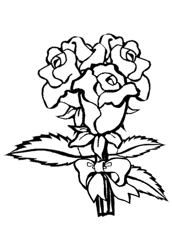 coloring pictures roses printable rose coloring pages for kids cool2bkids coloring pictures roses
