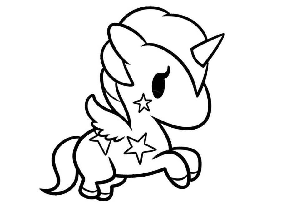coloring pictures unicorn a magical unicorn a coloring page taianomainen coloring pictures unicorn