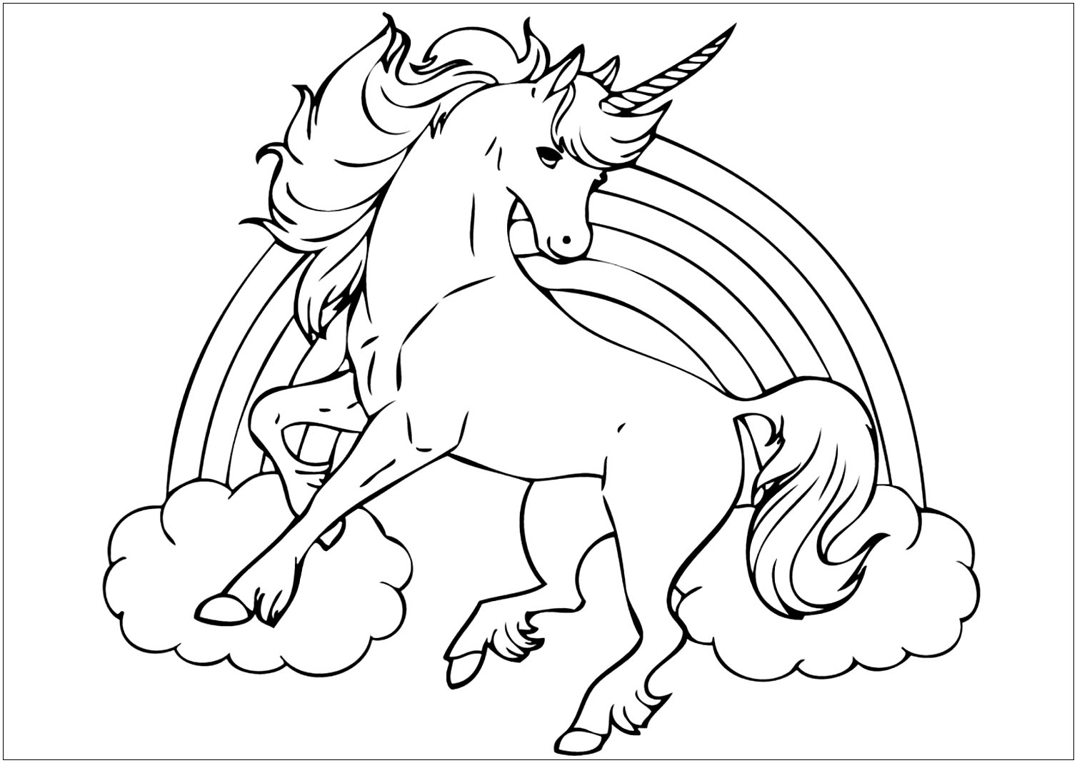 coloring pictures unicorn unicorn coloring pages free download on clipartmag pictures coloring unicorn