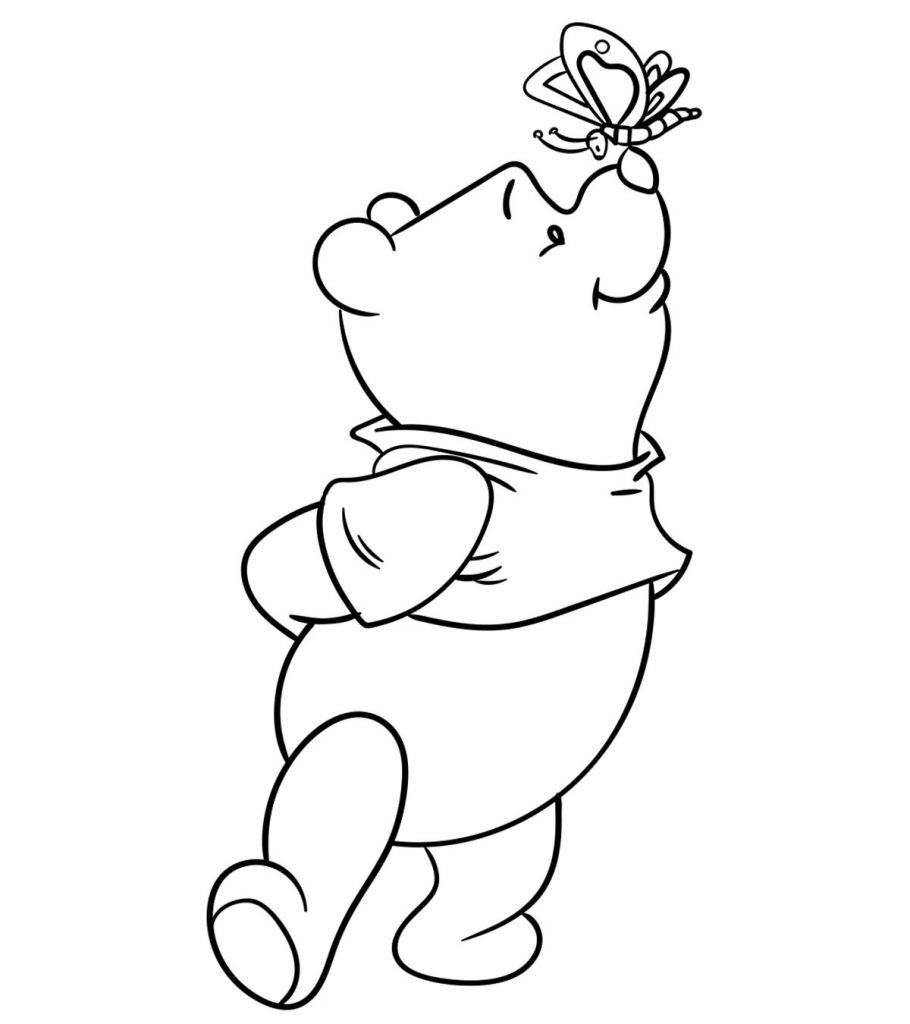 coloring pictures winnie the pooh top 30 free printable cute winnie the pooh coloring pages winnie coloring pictures the pooh
