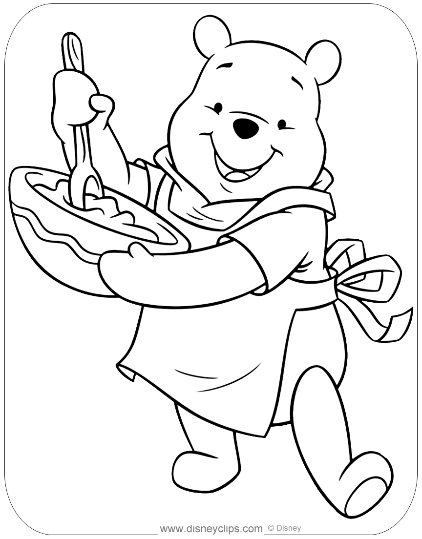 coloring pictures winnie the pooh winnie the pooh coloring pages disney39s world of wonders coloring the pictures pooh winnie