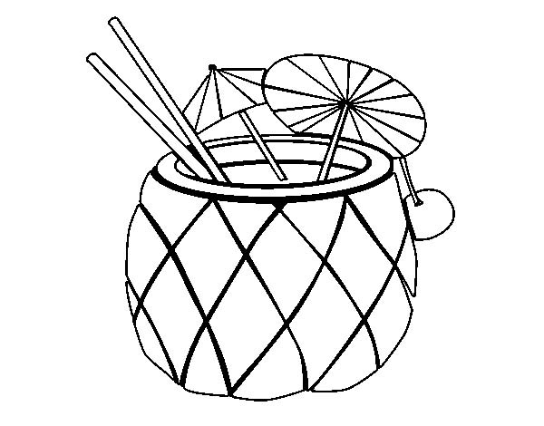 coloring pineapple clipart clipart panda free clipart images coloring clipart pineapple