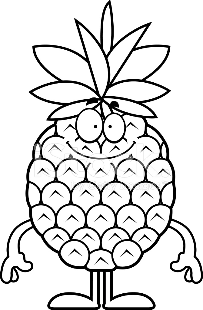 coloring pineapple clipart clipart panda free clipart images pineapple coloring clipart