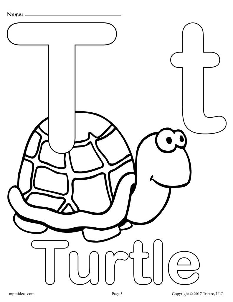 coloring printable alphabet 5 best images of large printable letter t large printable alphabet coloring