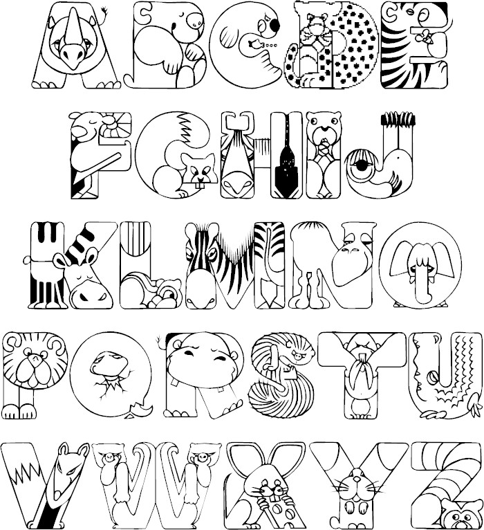 coloring printable alphabet a z alphabet coloring pages download and print for free alphabet coloring printable