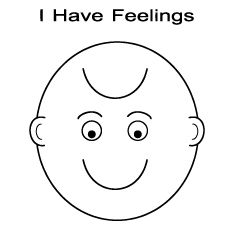 coloring printable emotion faces happy and sad face just turn it upside down for upside coloring printable emotion faces