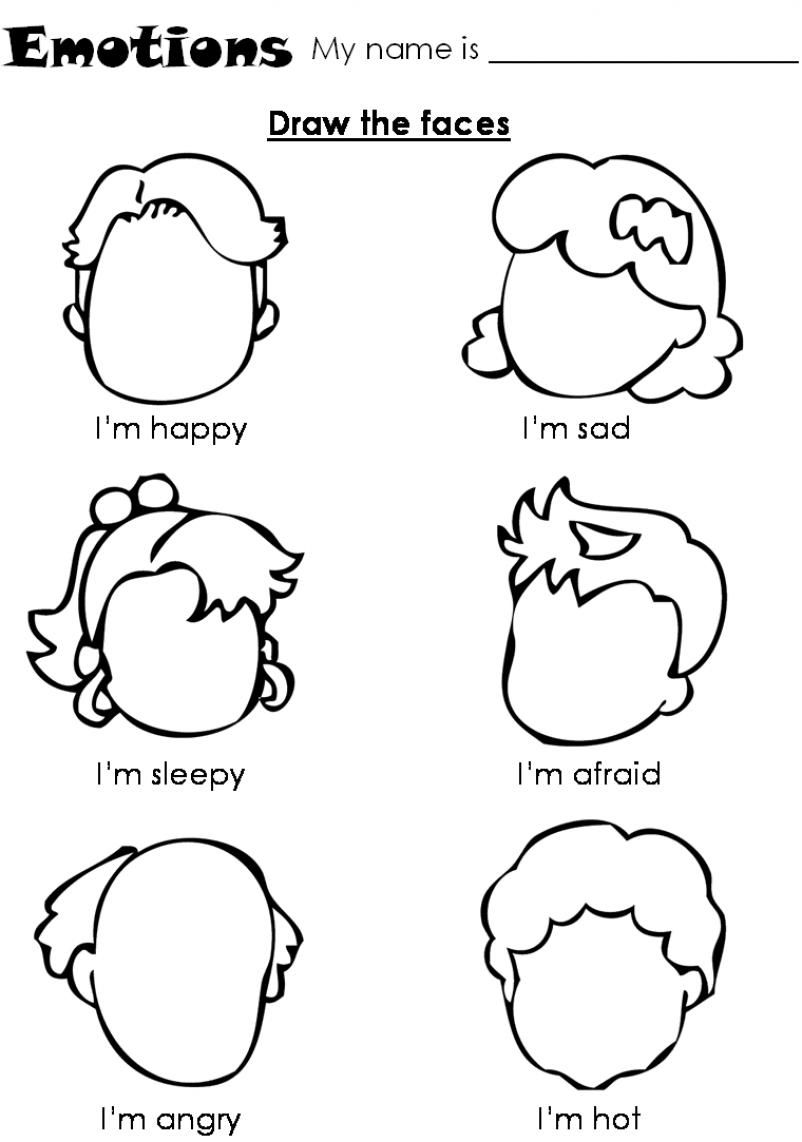 coloring printable emotion faces teaching feelings emotions and rembrandt teach printable faces coloring emotion