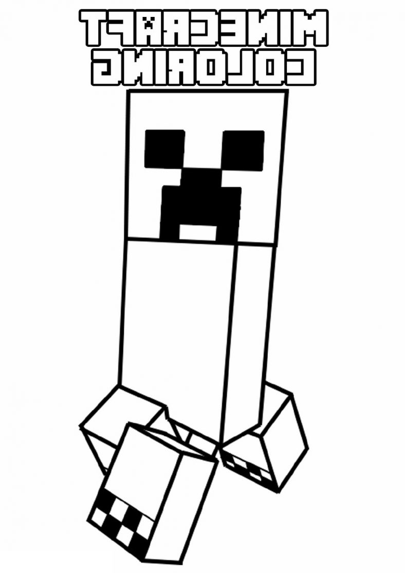 coloring printable minecraft creeper minecraft creeper coloring page for kids k5 worksheets minecraft creeper printable coloring