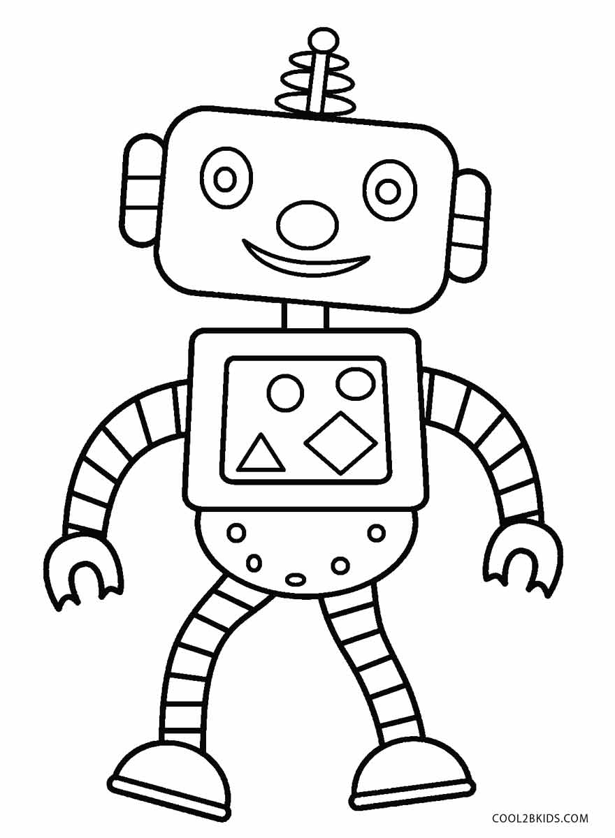 coloring robot free printable robot coloring pages for kids cool2bkids coloring robot