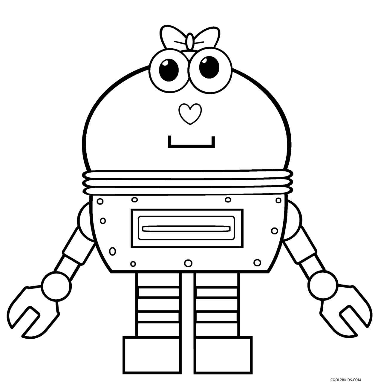 coloring robot free printable robot coloring pages for kids cool2bkids coloring robot 1 1