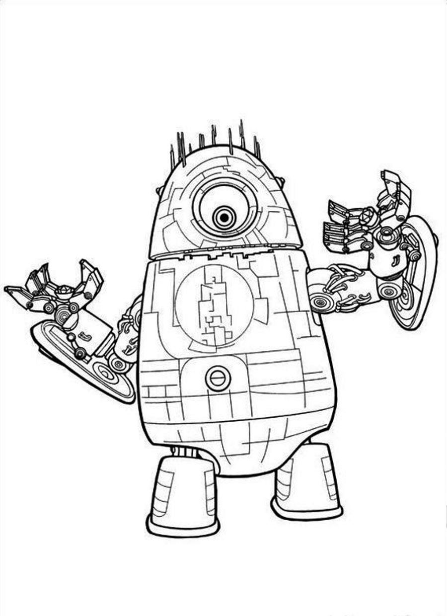coloring robot free printable robot coloring pages for kids cool2bkids robot coloring 1 4