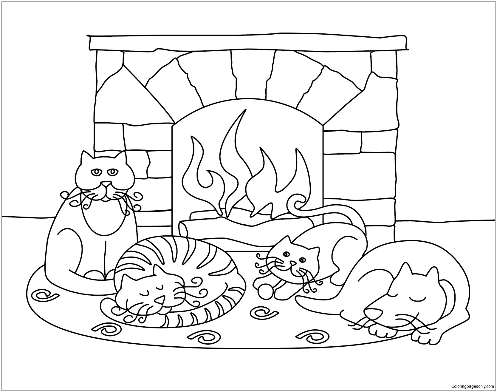 coloring scenes for kids classic christmas coloring pages kid39s christmas kids for scenes coloring