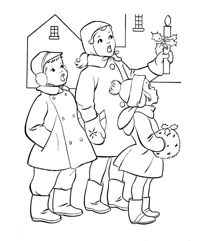 coloring scenes for kids free printable winter coloring pages for kids coloring coloring scenes for kids