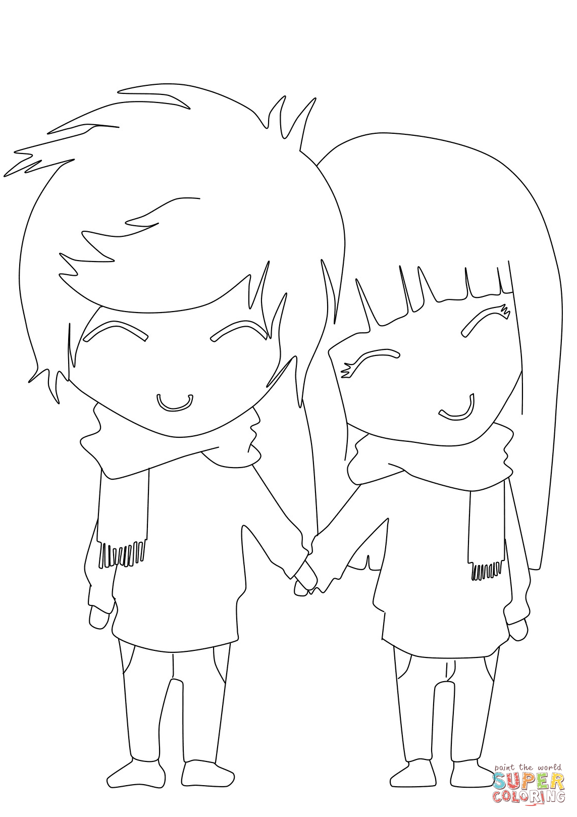 coloring sheet boy and girl boy and girls template primary lesson for nursery sheet coloring girl and boy