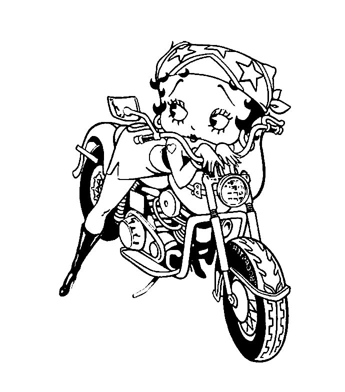 coloring sheet motorcycle coloring pages betty boop coloring pages betty boop biker betty boop coloring pages coloring sheet motorcycle