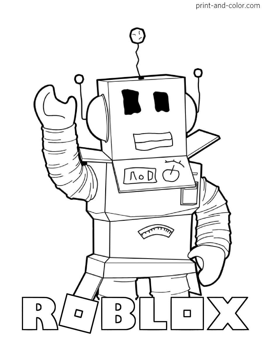 coloring sheet roblox roblox coloring pages print and colorcom roblox coloring sheet 1 1