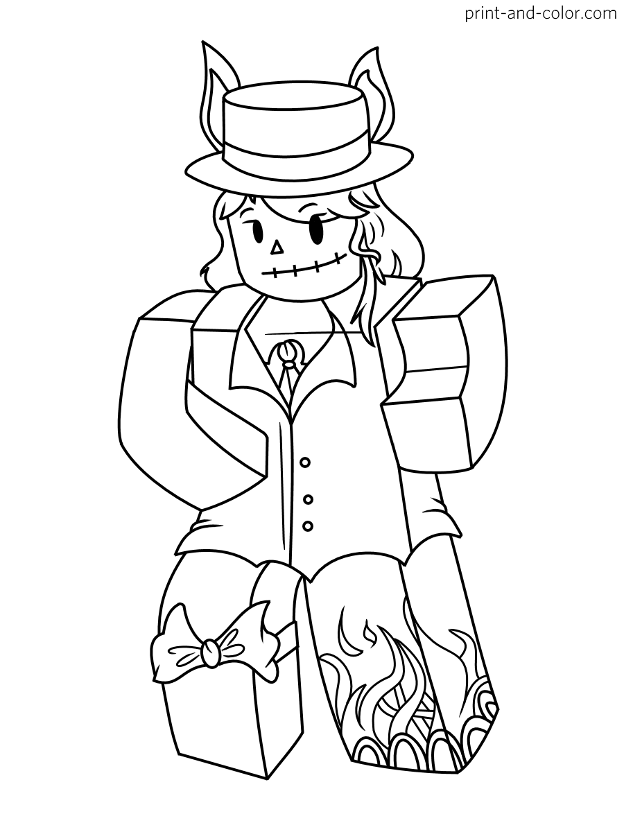 coloring sheet roblox roblox coloring pages print and colorcom roblox coloring sheet 1 2