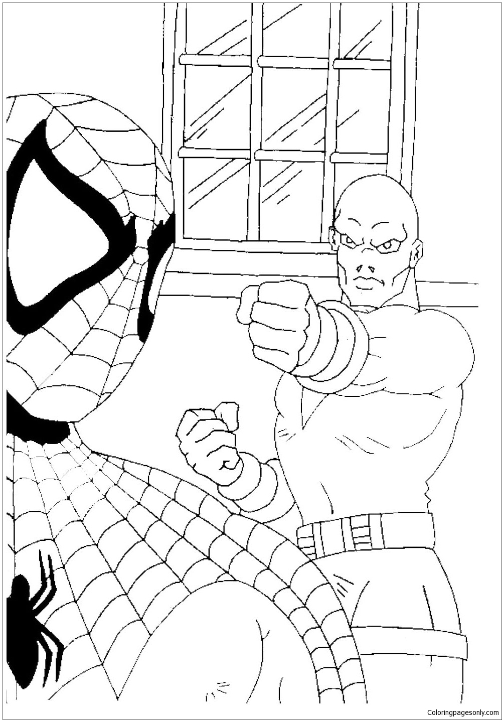 coloring sheet spiderman coloring pages printable cute spiderman coloring page for kids pages sheet spiderman coloring coloring