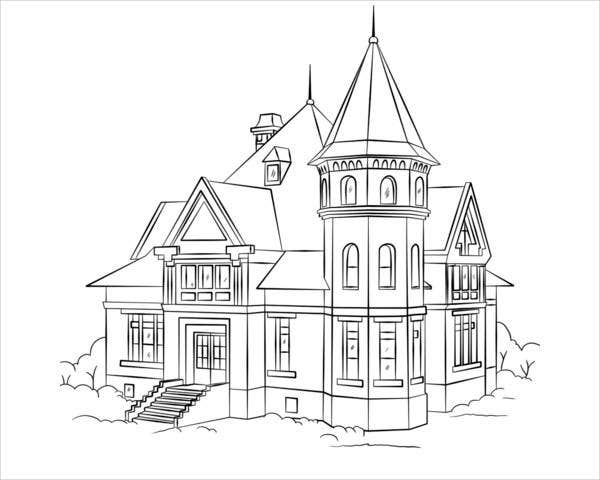 coloring sheets house 9 house coloring pages jpg ai illustrator download sheets coloring house