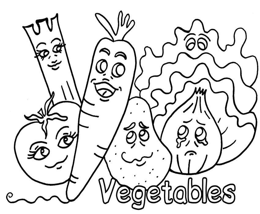 coloring sheets vegetables fruits and vegetables drawing at getdrawings free download vegetables sheets coloring