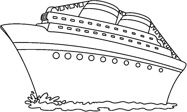 coloring ship pictures gigantic cruise ship coloring pages netart pictures ship coloring