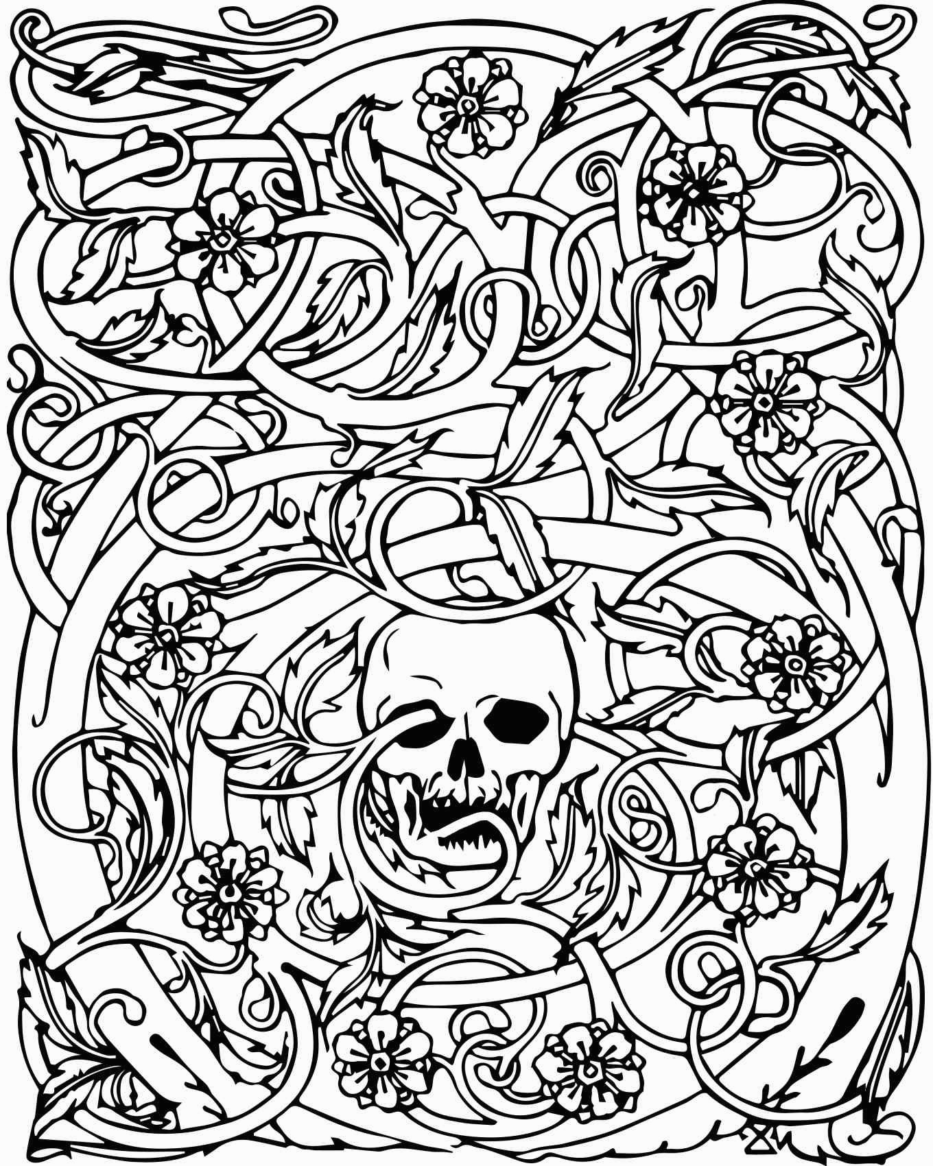 coloring skulls coloring pages skull free printable coloring pages skulls coloring 1 1