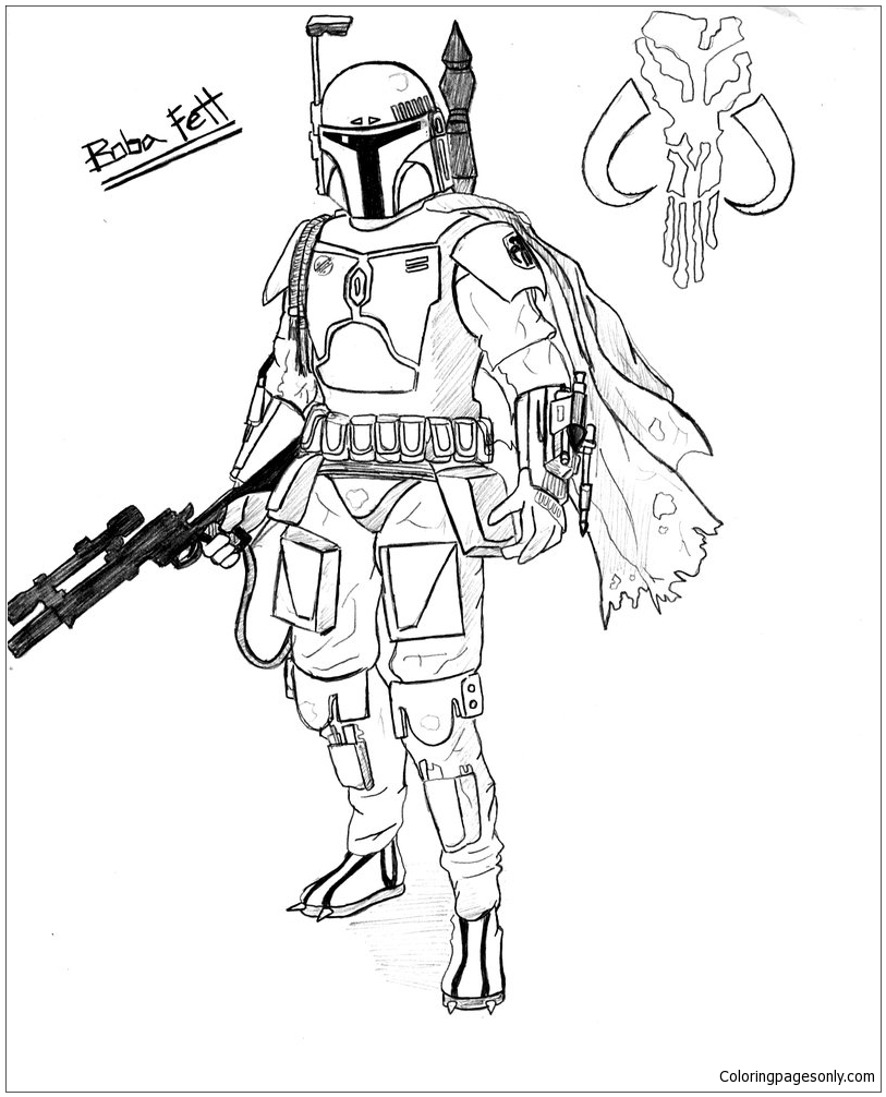 coloring star wars boba fett 10 amazing boba fett coloring pages for your little ones wars star coloring fett boba