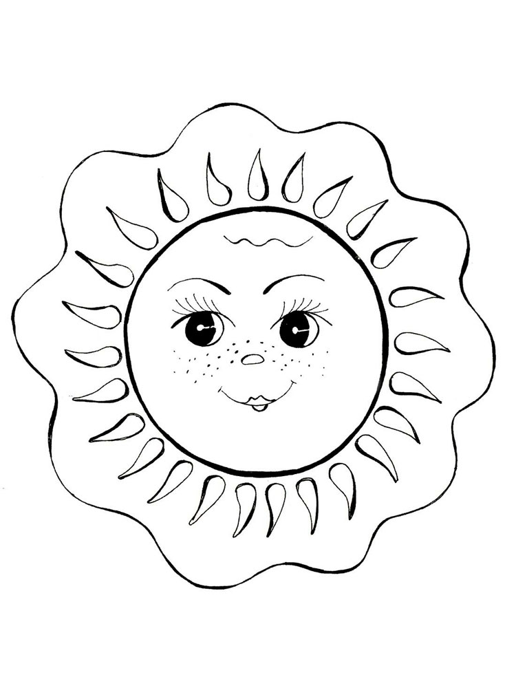 coloring sun sun coloring pages free printables momjunction coloring sun