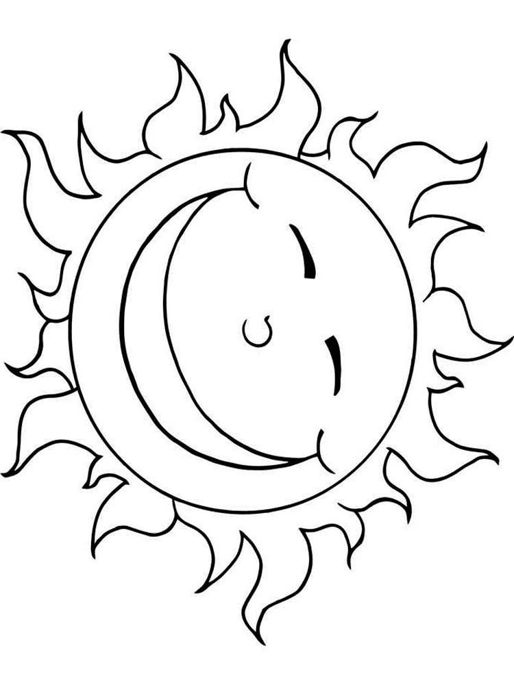 coloring sun sun coloring pages free to print sun coloring