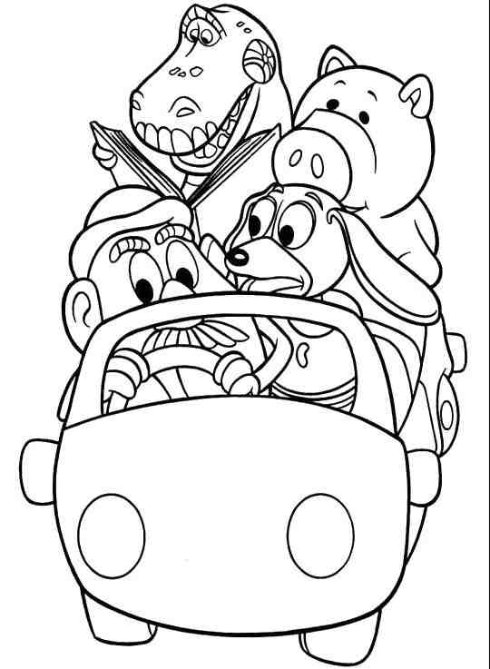 coloring toy story 4 32 toy story 4 coloring pages colorirbest in 2020 with coloring 4 story toy