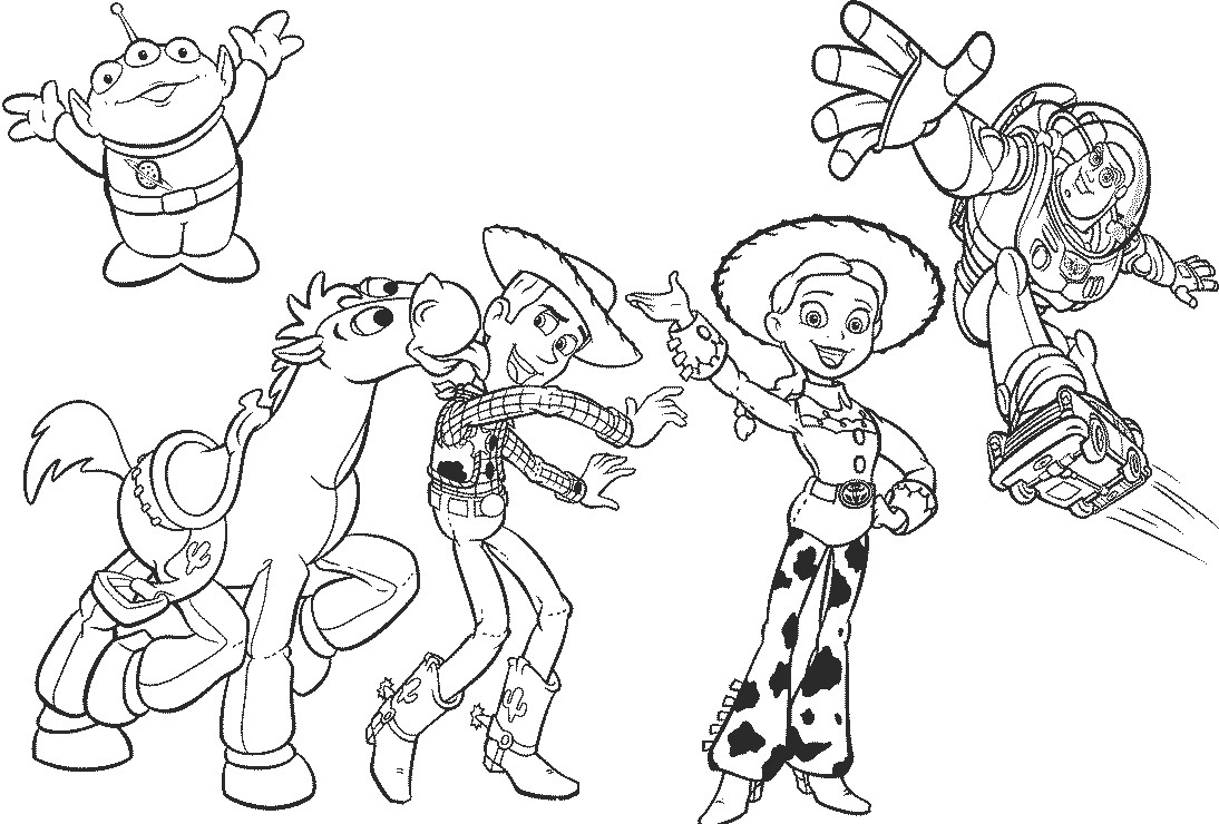 coloring toy story 4 toy story 4 coloring pages getcoloringpagescom 4 coloring story toy