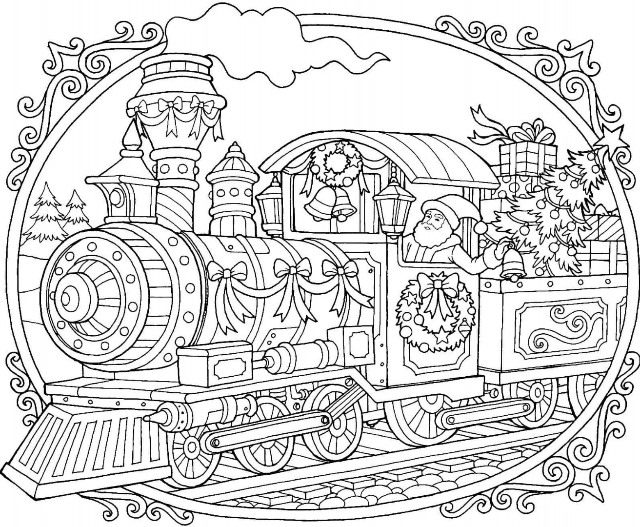 coloring train drawing pictures for kids 12 christmas drawing download ty coloring pictures train for kids drawing
