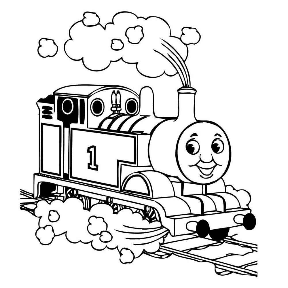 coloring train drawing pictures for kids children thomas tank engine train wall art sticker decal coloring kids drawing for pictures train