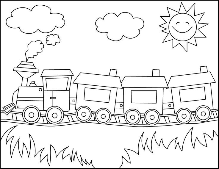 coloring train drawing pictures for kids free train drawing for kids download free clip art free train pictures drawing coloring kids for