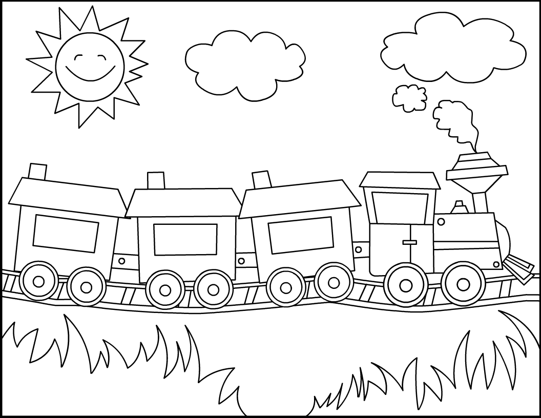 coloring train drawing pictures for kids polar express coloring pages to download and print for free coloring drawing for pictures kids train