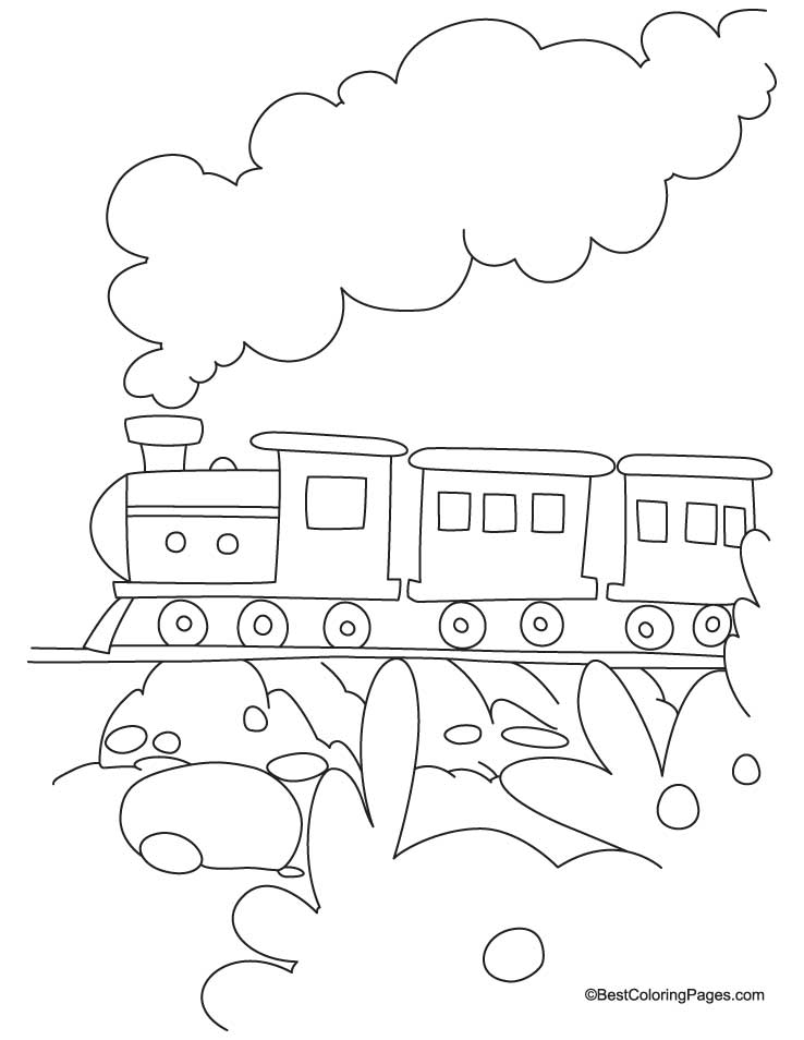 coloring train drawing pictures for kids train coloring page 3 download free train coloring page drawing for kids train coloring pictures